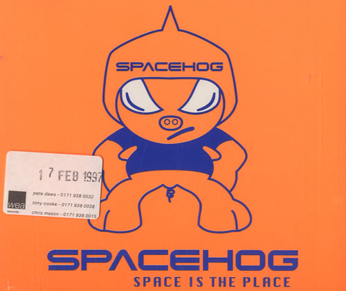 """Spacehog Space Is The Place CD single (CD5 / 5"""") UK PHGC5SP509572"""