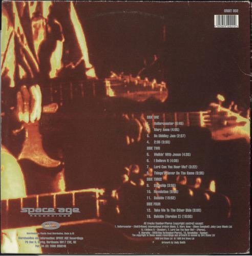 Spacemen 3 Live In Europe 1989 - VG 2-LP vinyl record set (Double Album) UK SP32LLI734521