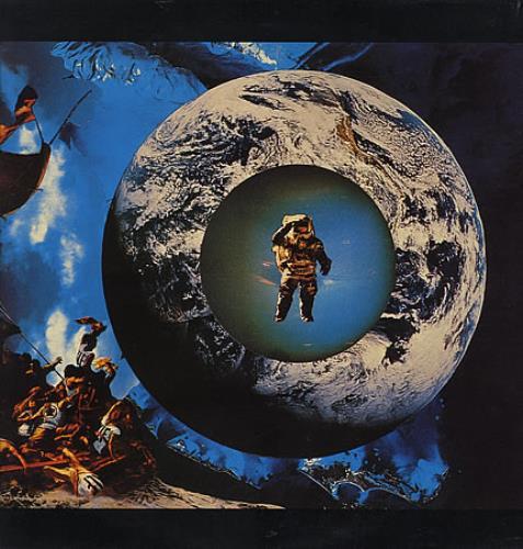 Space (on KLF Comm) Space - White Label vinyl LP album (LP record) UK CESLPSP142775