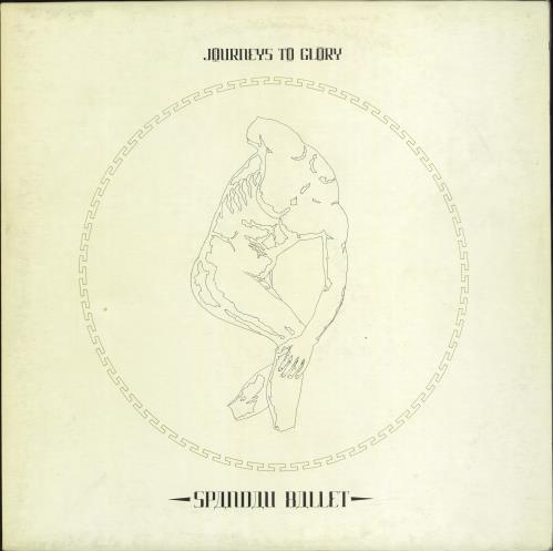 Spandau Ballet Journeys To Glory vinyl LP album (LP record) Swedish SPBLPJO771310
