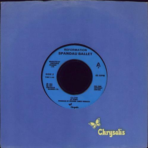 "Spandau Ballet Muscle Bound 7"" vinyl single (7 inch record) UK SPB07MU772087"