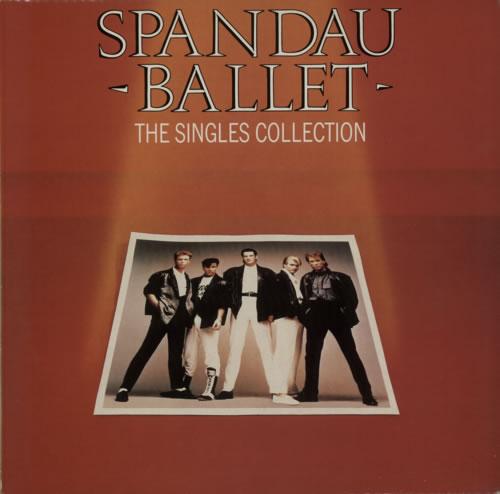Spandau Ballet The Singles Collection vinyl LP album (LP record) UK SPBLPTH285254