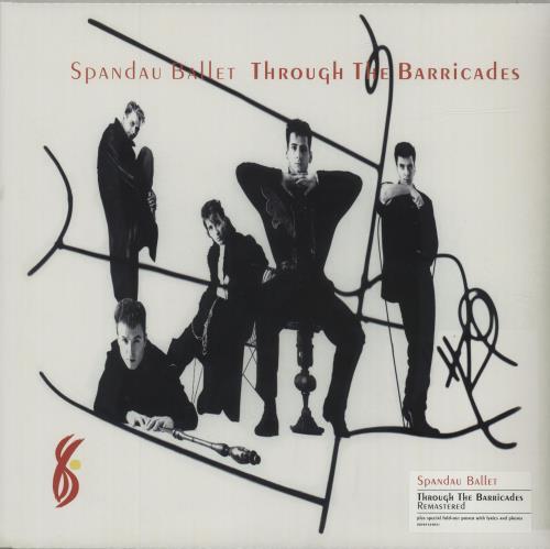 Spandau Ballet Through The Barricades - Sealed vinyl LP album (LP record) UK SPBLPTH682372