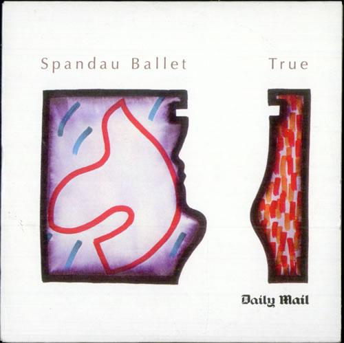Spandau Ballet True - Daily Mail CD album (CDLP) UK SPBCDTR510722