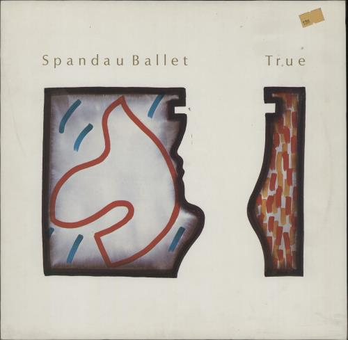 Spandau Ballet True vinyl LP album (LP record) German SPBLPTR676514