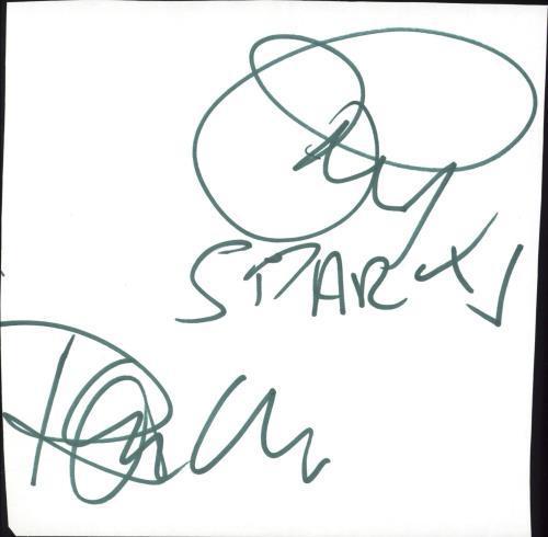 Sparks Autographs memorabilia UK SPAMMAU714719