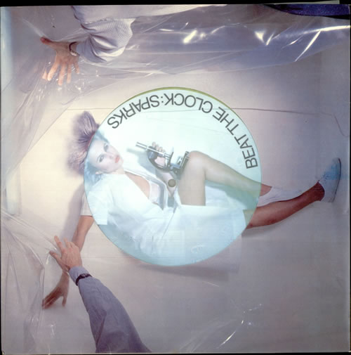 "Sparks Beat The Clock - Yellow Vinyl 12"" vinyl single (12 inch record / Maxi-single) UK SPA12BE151667"