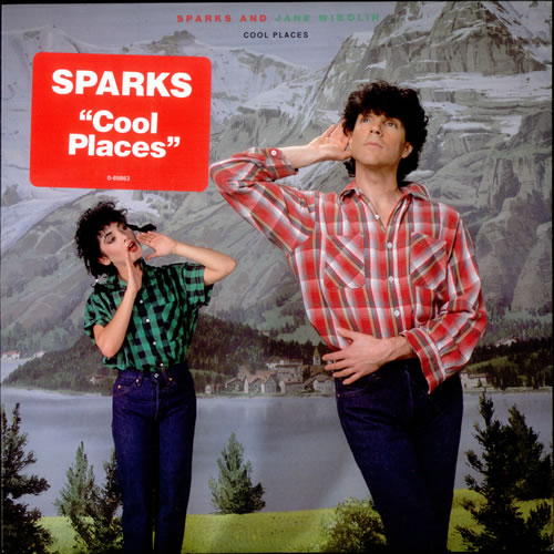 "Sparks Cool Places 12"" vinyl single (12 inch record / Maxi-single) US SPA12CO104322"