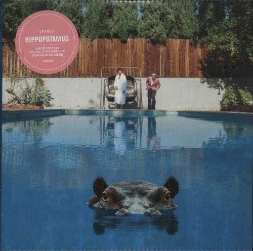 Sparks Hippopotamus - Sealed picture disc LP (vinyl picture disc album) UK SPAPDHI680915