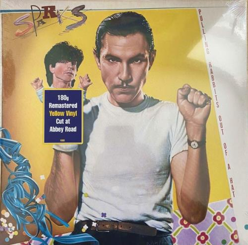 Sparks Pulling Rabbits Out Of A Hat - Yellow Vinyl - Sealed vinyl LP album (LP record) UK SPALPPU767828