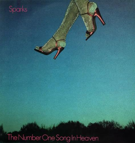 """Sparks The Number One Song In Heaven - Red Vinyl 12"""" vinyl single (12 inch record / Maxi-single) UK SPA12TH40828"""