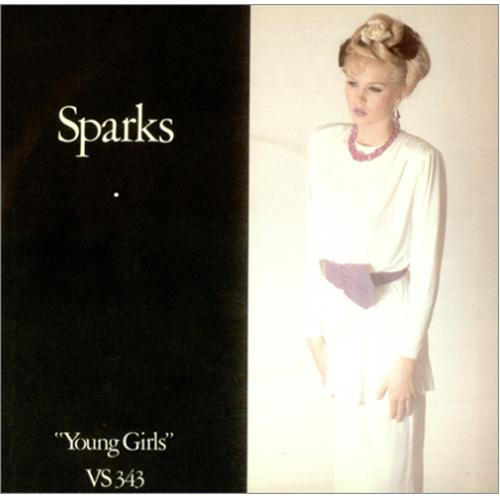 "Sparks Young Girls 7"" vinyl single (7 inch record) UK SPA07YO106293"