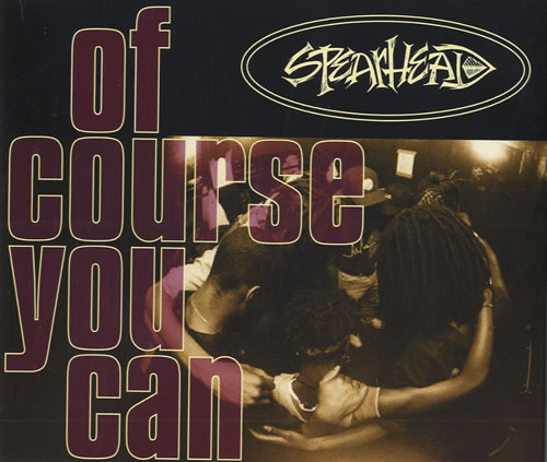 """Spearhead Of Course You Can CD single (CD5 / 5"""") UK S-HC5OF460234"""