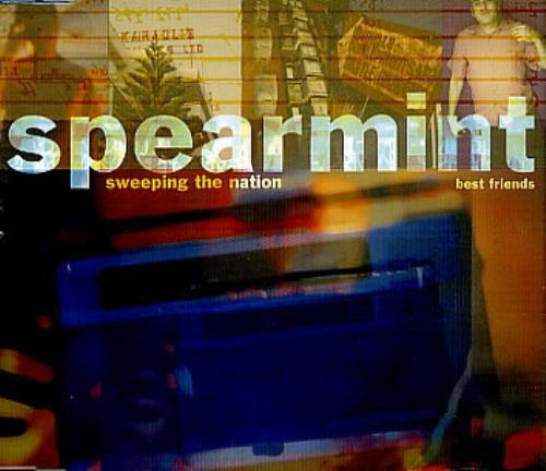 "Spearmint Sweeping The Nation CD single (CD5 / 5"") UK PRTC5SW304739"