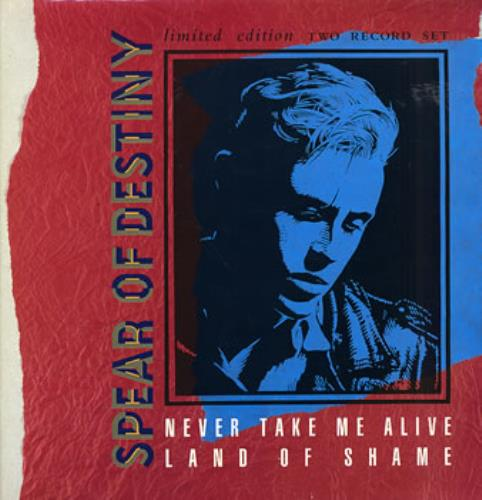 "Spear Of Destiny Never Take Me Alive - Double Pack UK 12"" vinyl single (12  inch record / Maxi-single) (115568)"