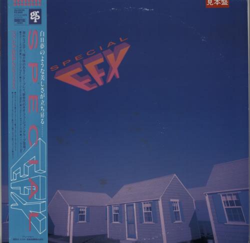 Special EFX Special EFX Japanese Promo vinyl LP album (LP record)