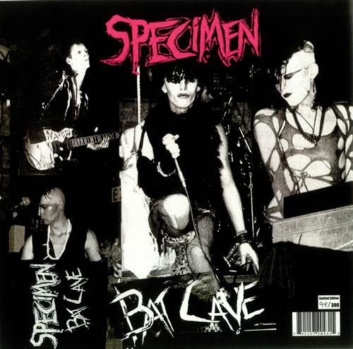 Specimen Bat Cave vinyl LP album (LP record) US EPCLPBA437195