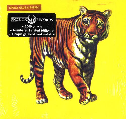 Speed, Glue & Shinki Speed, Glue & Shinki CD album (CDLP) UK UPFCDSP505334