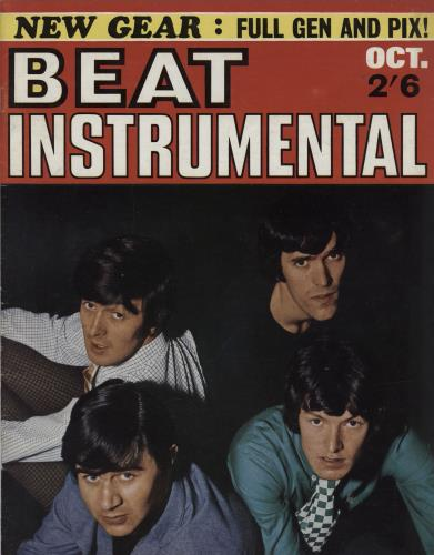 Spencer Davis Group Beat Instrumental Monthly No. 42 magazine UK SDGMABE764328