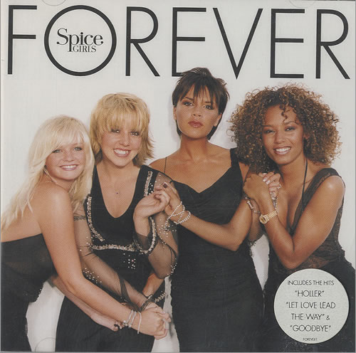 Spice Girls Forever CD album (CDLP) UK PICCDFO166601