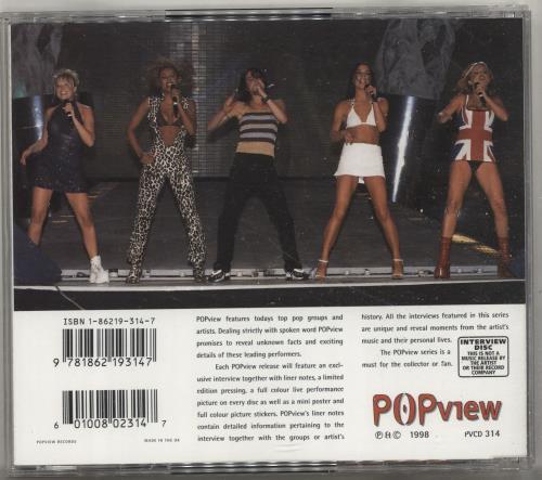 Spice Girls Girl Power Interview CD album (CDLP) UK PICCDGI269335