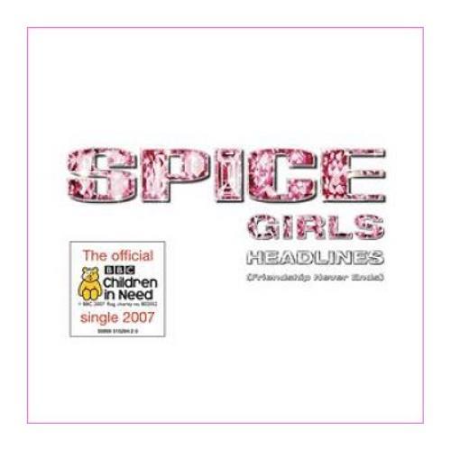 "Spice Girls Headlines [Friendship Never Ends] CD single (CD5 / 5"") UK PICC5HE419960"