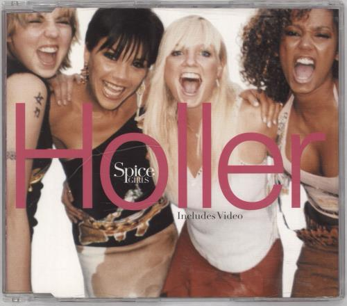 Spice Girls Holler / Let Love Lead The Way 2-CD single set (Double CD single) UK PIC2SHO168730