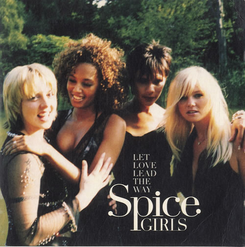 """Spice Girls Let Love Lead The Way CD single (CD5 / 5"""") UK PICC5LE168444"""