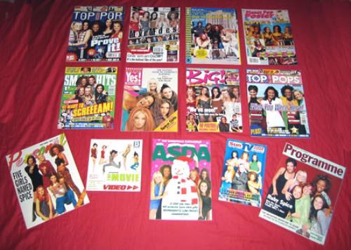 Spice Girls Set Of 13 Magazines magazine UK PICMASE379469