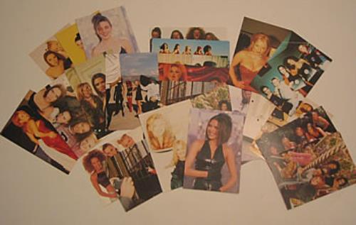 Spice Girls Set Of 24 Professional Photographs photograph UK PICPHSE352846
