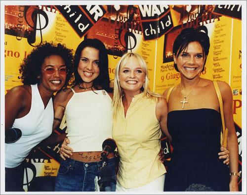 Spice Girls Set Of 4 Colour Photo's photograph UK PICPHSE442375