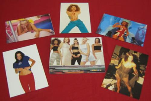 Spice Girls Set Of 56 Licensed Photographs photograph UK PICPHSE352843