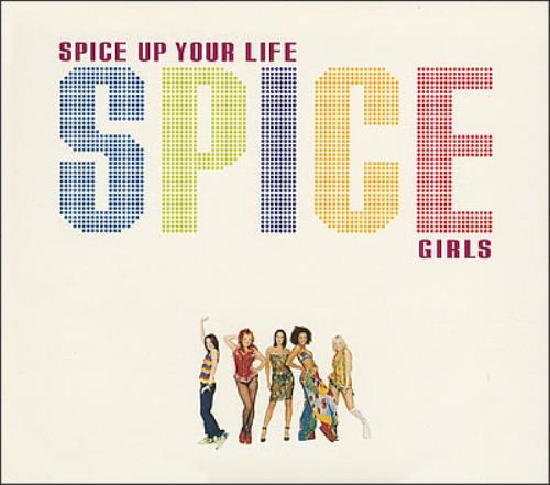 "Spice Girls Spice Up Your Life CD single (CD5 / 5"") UK PICC5SP95980"