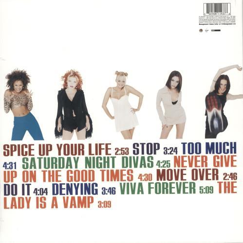 Spice Girls Spice World - 180gram Vinyl - Sealed vinyl LP album (LP record) UK PICLPSP741368