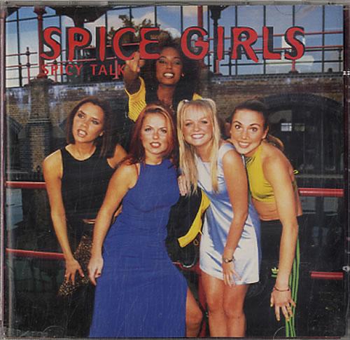 Spice Girls Spicy Talk CD album (CDLP) UK PICCDSP122264