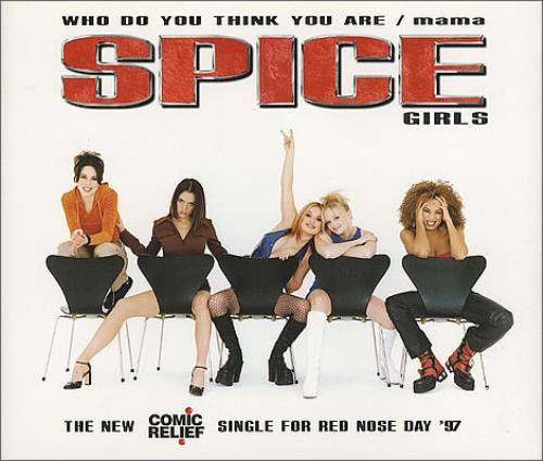 "Spice Girls Who Do You Think You Are/mama CD single (CD5 / 5"") UK PICC5WH101280"