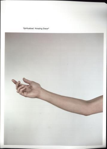 Spiritualized Amazing Grace poster UK SPZPOAM268361