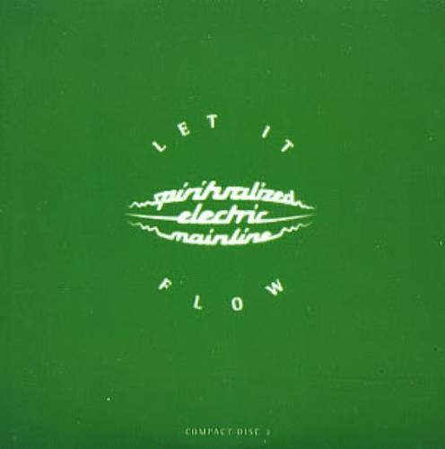 "Spiritualized Let It Flow - CD 3 CD single (CD5 / 5"") UK SPZC5LE261105"