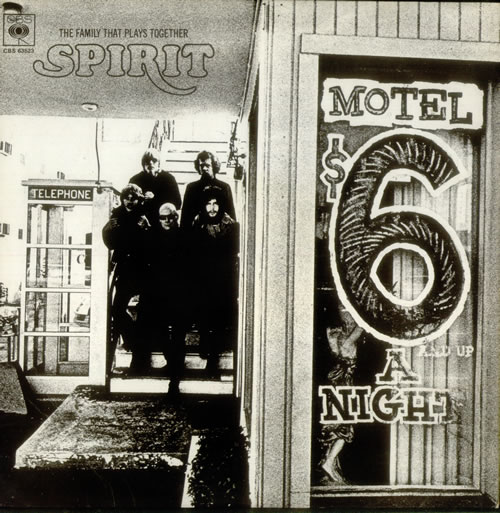 Spirit The Family That Plays Together - VG/EX vinyl LP album (LP record) UK SRTLPTH545482