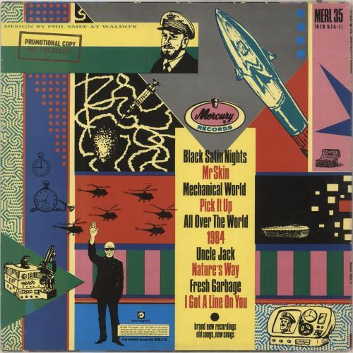 Spirit The Thirteenth Dream - promo stamp vinyl LP album (LP record) UK SRTLPTH742100