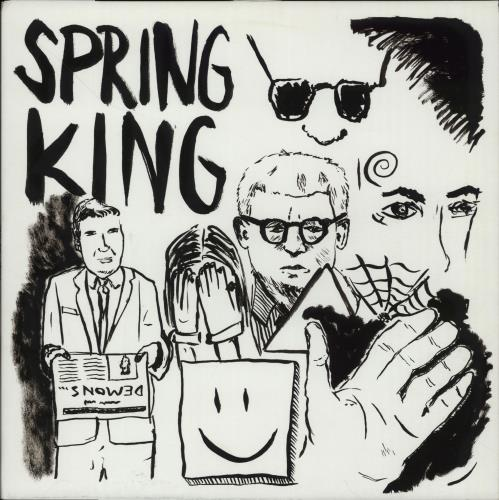 Spring King Demons vinyl LP album (LP record) UK X17LPDE658655