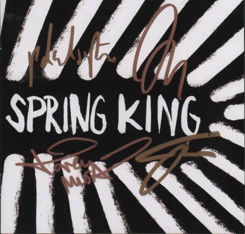 Spring King Tell Me If You Like To - Autographed CD album (CDLP) UK X17CDTE661914