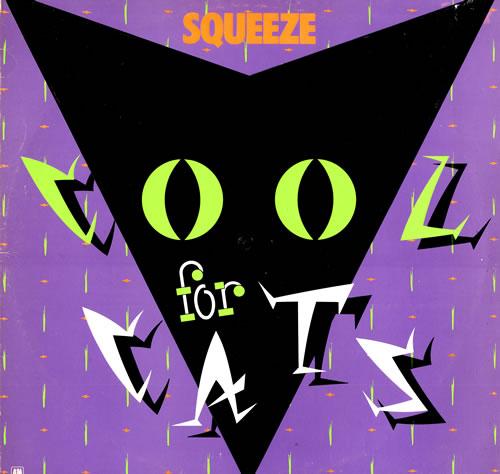 Squeeze Cool For Cats Mauve Sleeve Uk Vinyl Lp Album Lp