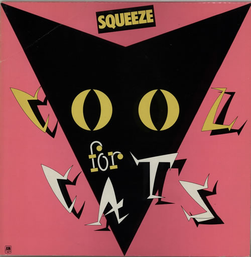 Squeeze Cool For Cats - Pink Sleeve vinyl LP album (LP record) UK SQULPCO628919