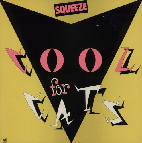 Squeeze Cool For Cats Yellow Sleeve Uk Vinyl Lp Album