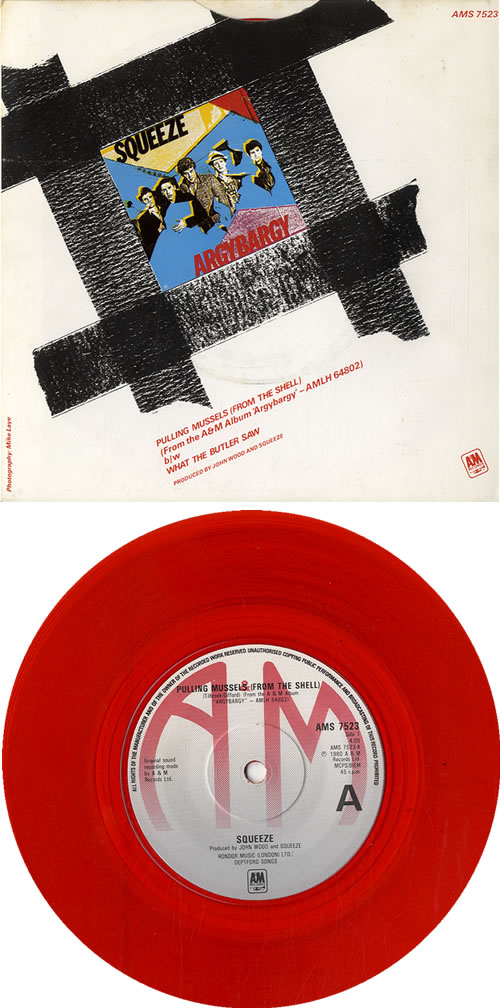 Squeeze Pulling Mussels From The Shell Red Uk 7 Quot Vinyl