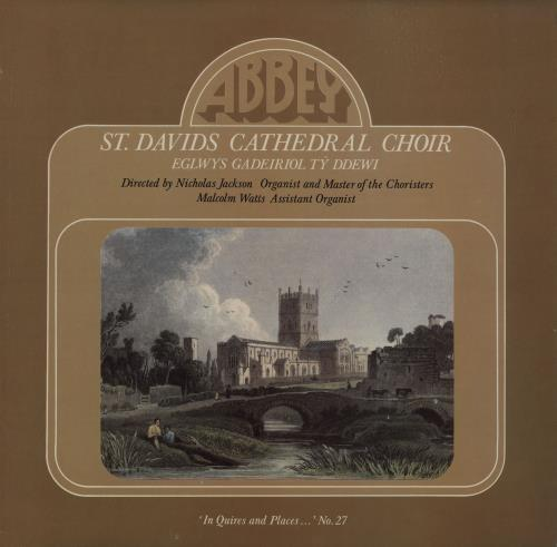 St. David's Cathedral Choir St. David's Cathedral Choir vinyl LP album (LP record) UK X2BLPST660801