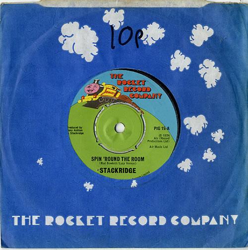 "Stackridge Spin Round The Room 7"" vinyl single (7 inch record) UK KRD07SP609985"