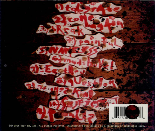 Staind Tormented CD album (CDLP) US ST-CDTO553658
