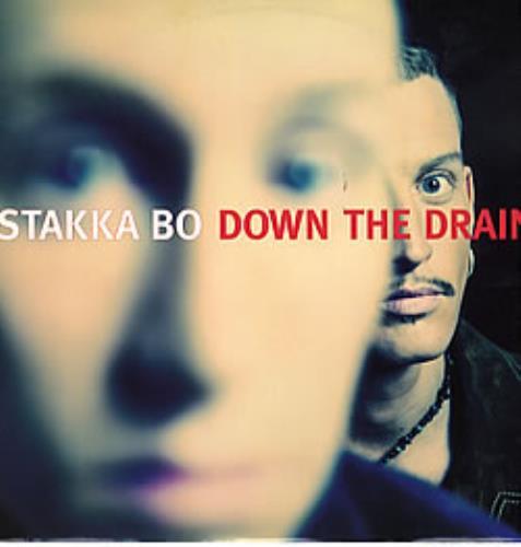 "Stakka Bo Down The Drain 12"" vinyl single (12 inch record / Maxi-single) UK SKK12DO281306"